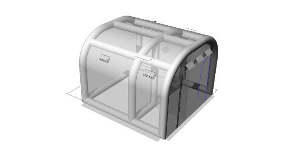 簡易陰圧室