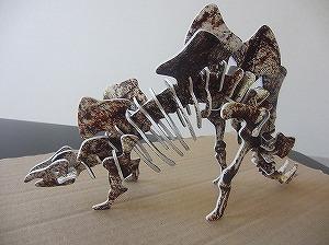 3Dパズル-ステゴザウルス